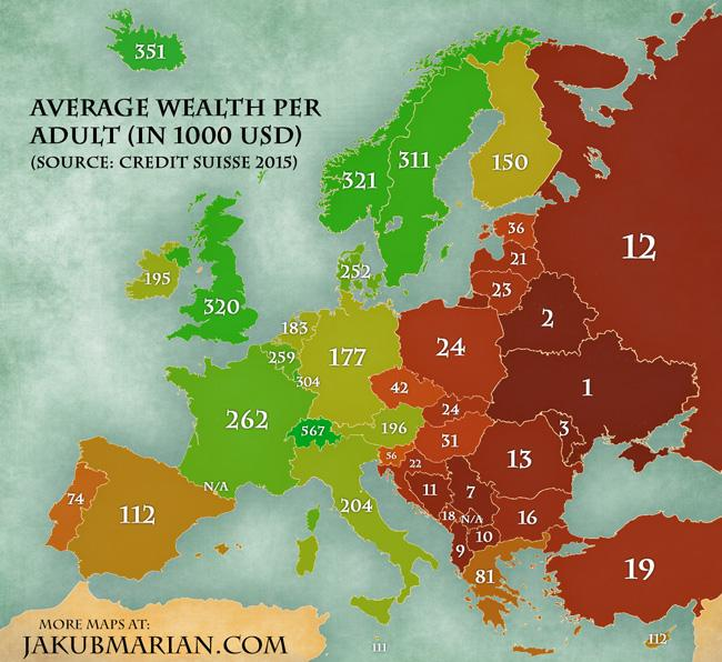 Україна набідніша країна
